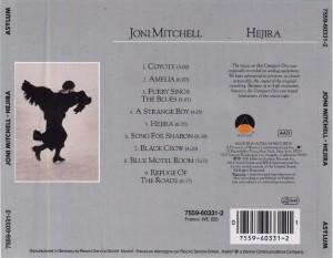 Joni Mitchell - Hejira - Back